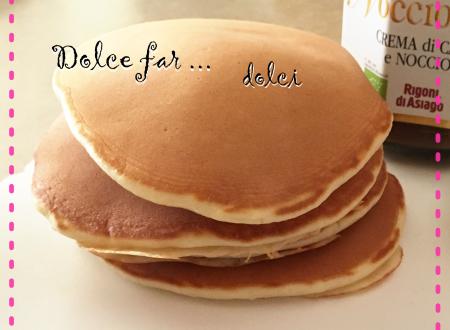 Pancake senza burro