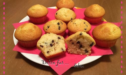 Muffin al cocco senza bilancia