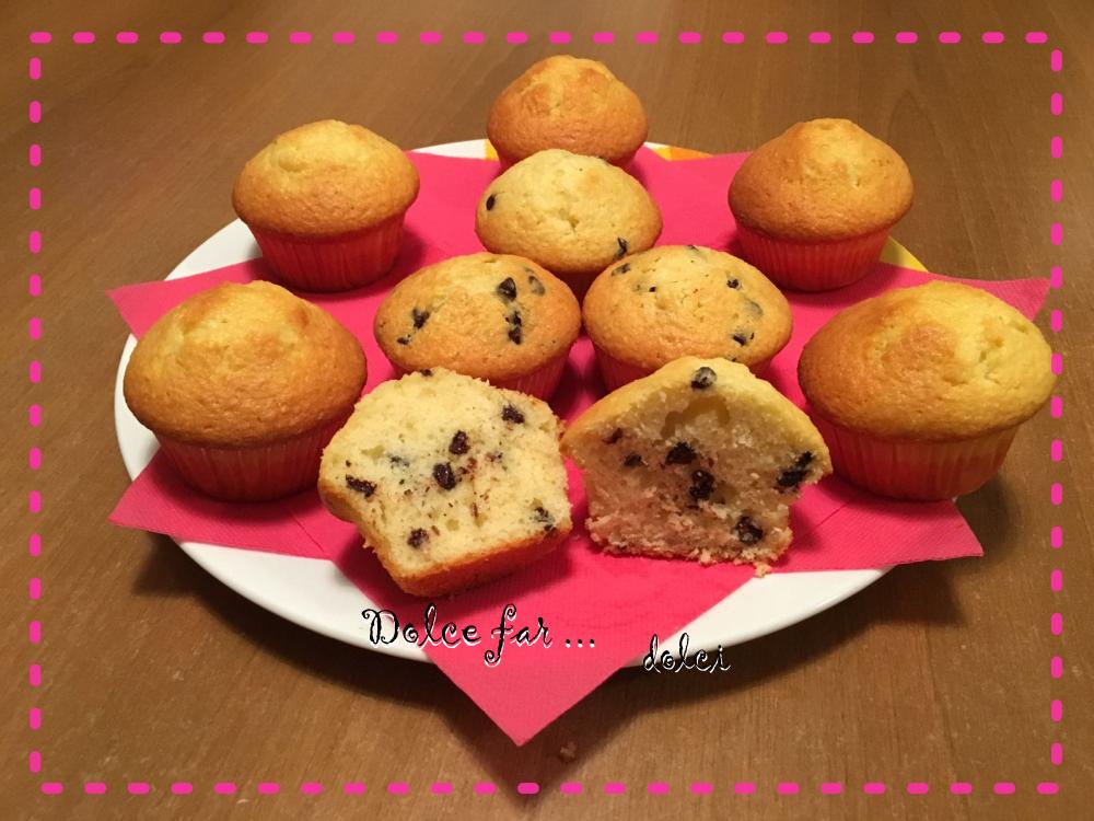 muffin al cocco e yogurt
