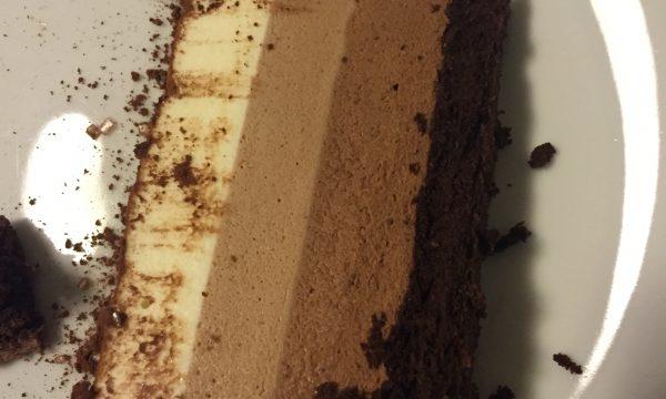 TRILOGY : mousse ai tre cioccolati