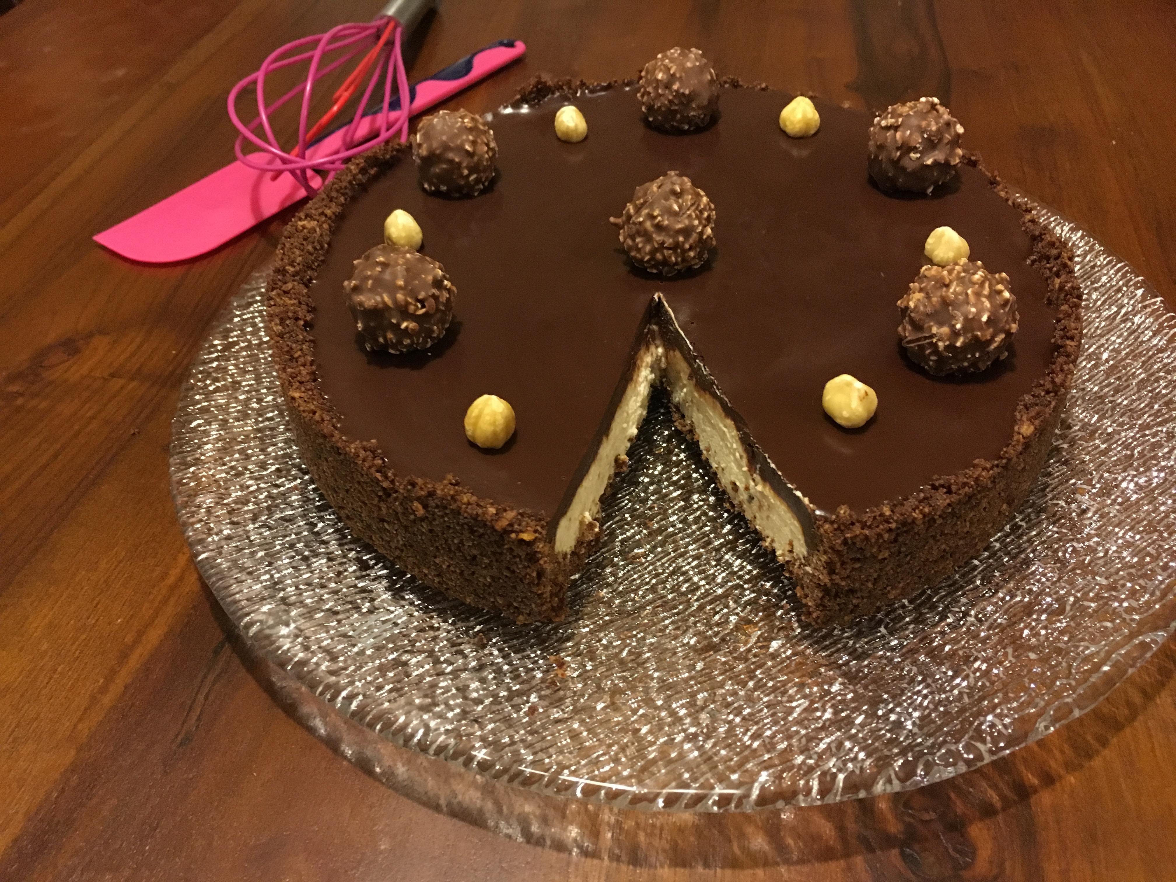 Favoloso Cheesecake Ferrero Rocher | DolceGiuridica CH07