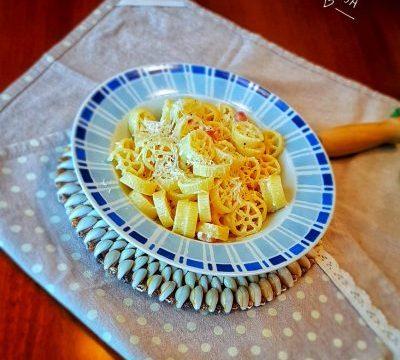 La mia pasta alla gricia