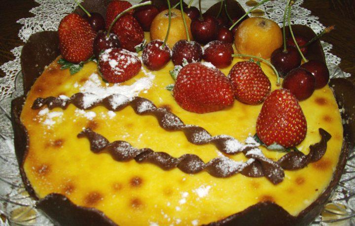 Tentazione regale al formaggio e cioccolato bianco