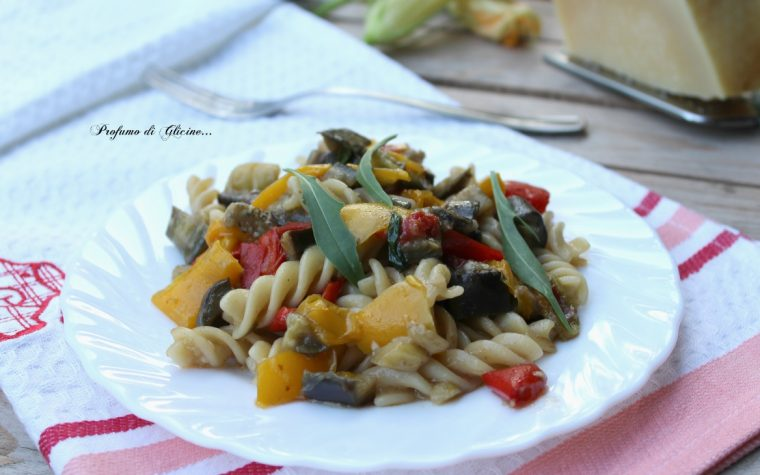 Fusilli vegetariani – ricetta veloce