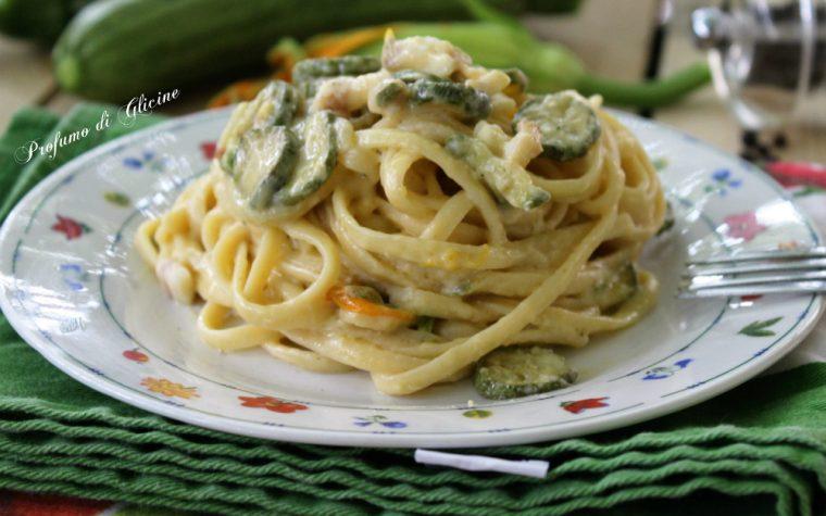 Carbonara di zucchine – ricetta primo piatto veloce