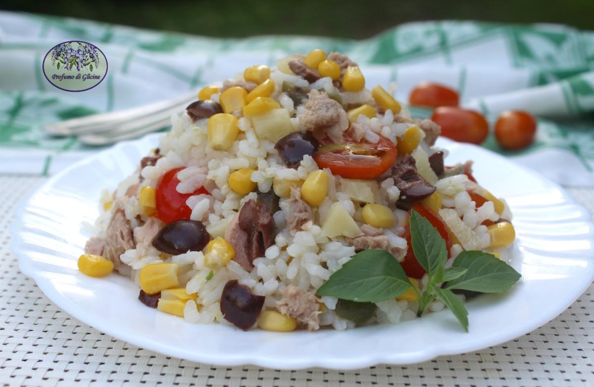 Insalata di riso veloce
