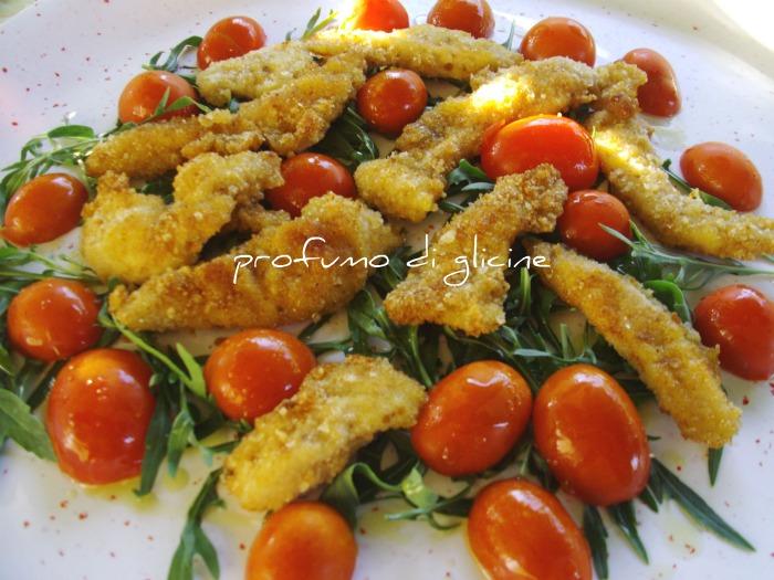 Ricette con petto di pollo e rucola