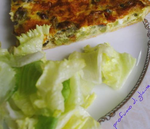 Quiche di verdure...torta salata svuota frigo