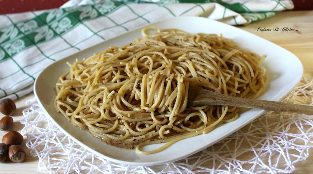 Spaghetti alle nocciole