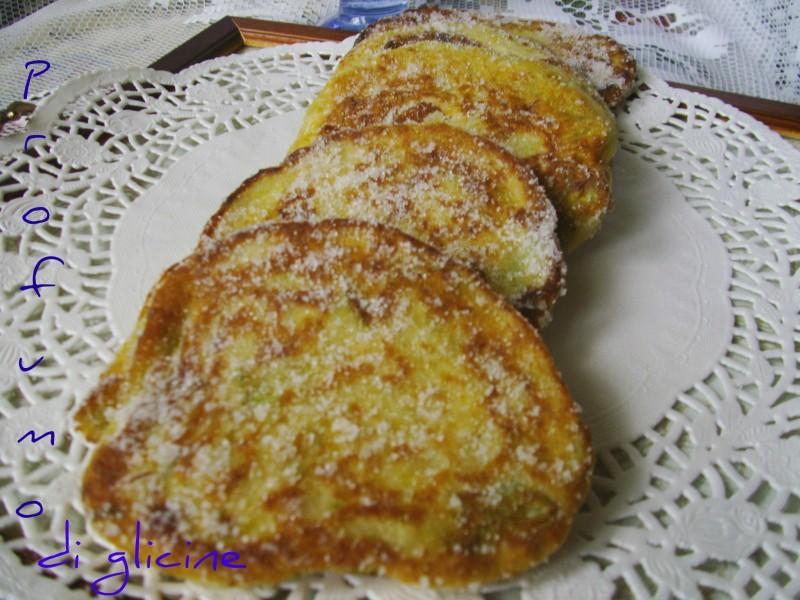 Ricetta di frittelle di zucchine dolci