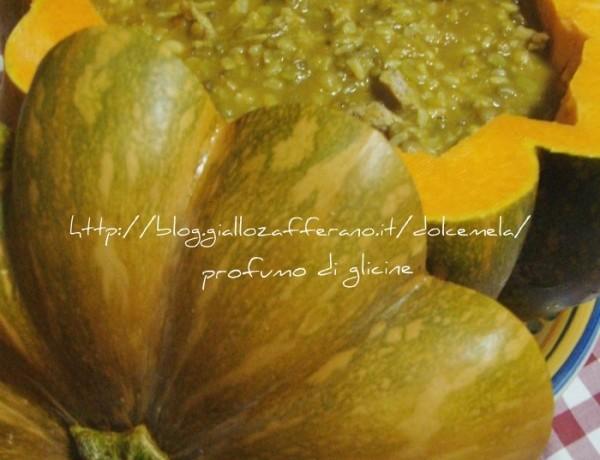Riso legumi e zucca – ricetta semplice per minestre e zuppe
