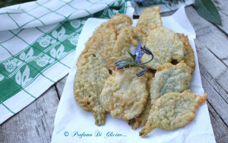 Borragine in pastella croccante