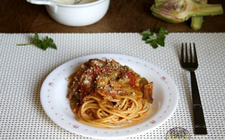 """Gli spaghetti al sugo di carciofi del film """"Il postino"""""""