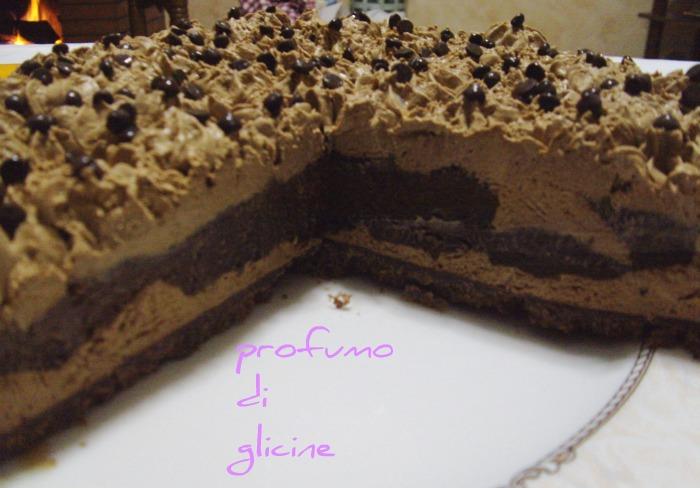 Cheesecake semifreddo caffe e cioccolato