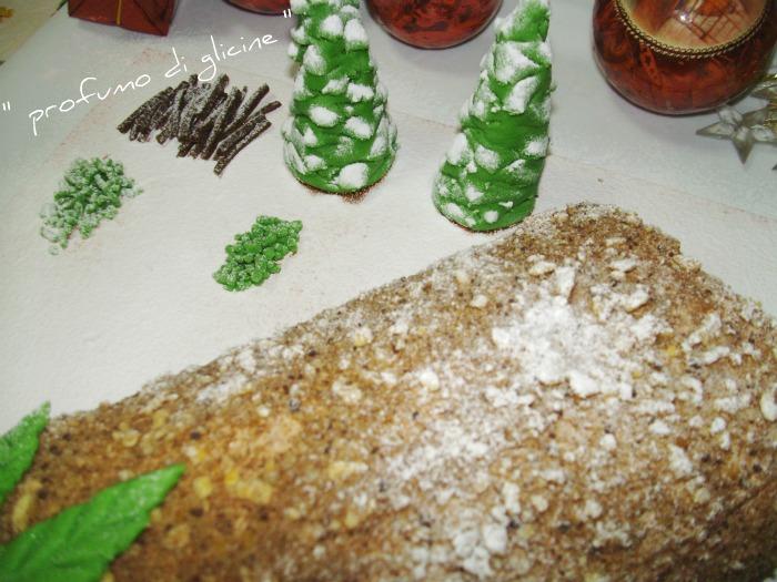 Rotolo di nocciole e cioccolato