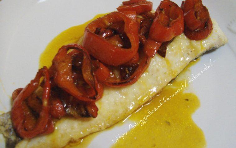 Filetto di merluzzo ai peperoni ricetta light
