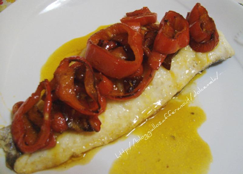 filetto di merluzzo ai peperoni ricetta light - Cucinare Filetto Di Merluzzo