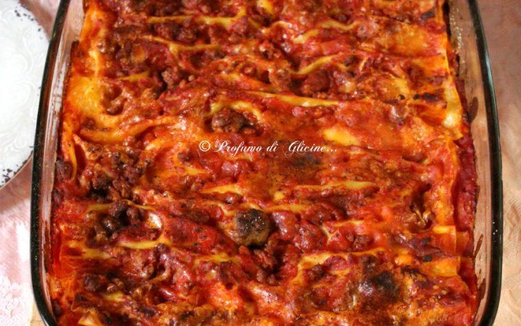 Lasagna di carnevale – Ricca e appetitosa