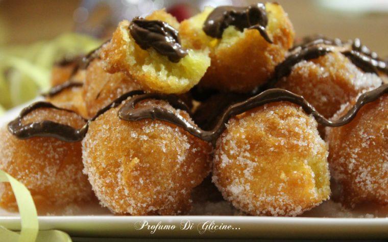 Castagnole alla ricotta e nutella – ricetta di Carnevale