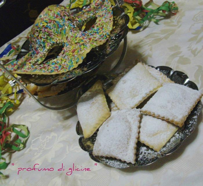 Ravioli di carnevale al cioccolato