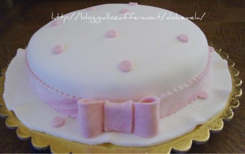 Torta cappellino a pois ricetta torta di compleanno da profumo di glicine