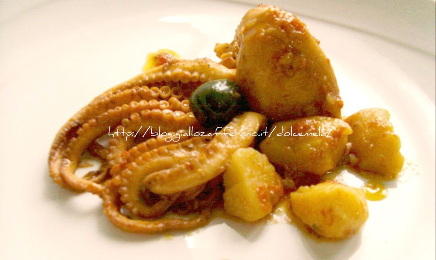 Ricette pesce moscardini in umido