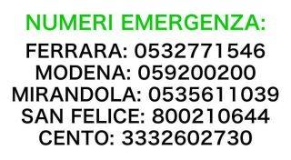 Emergenza terremoto in Emilia