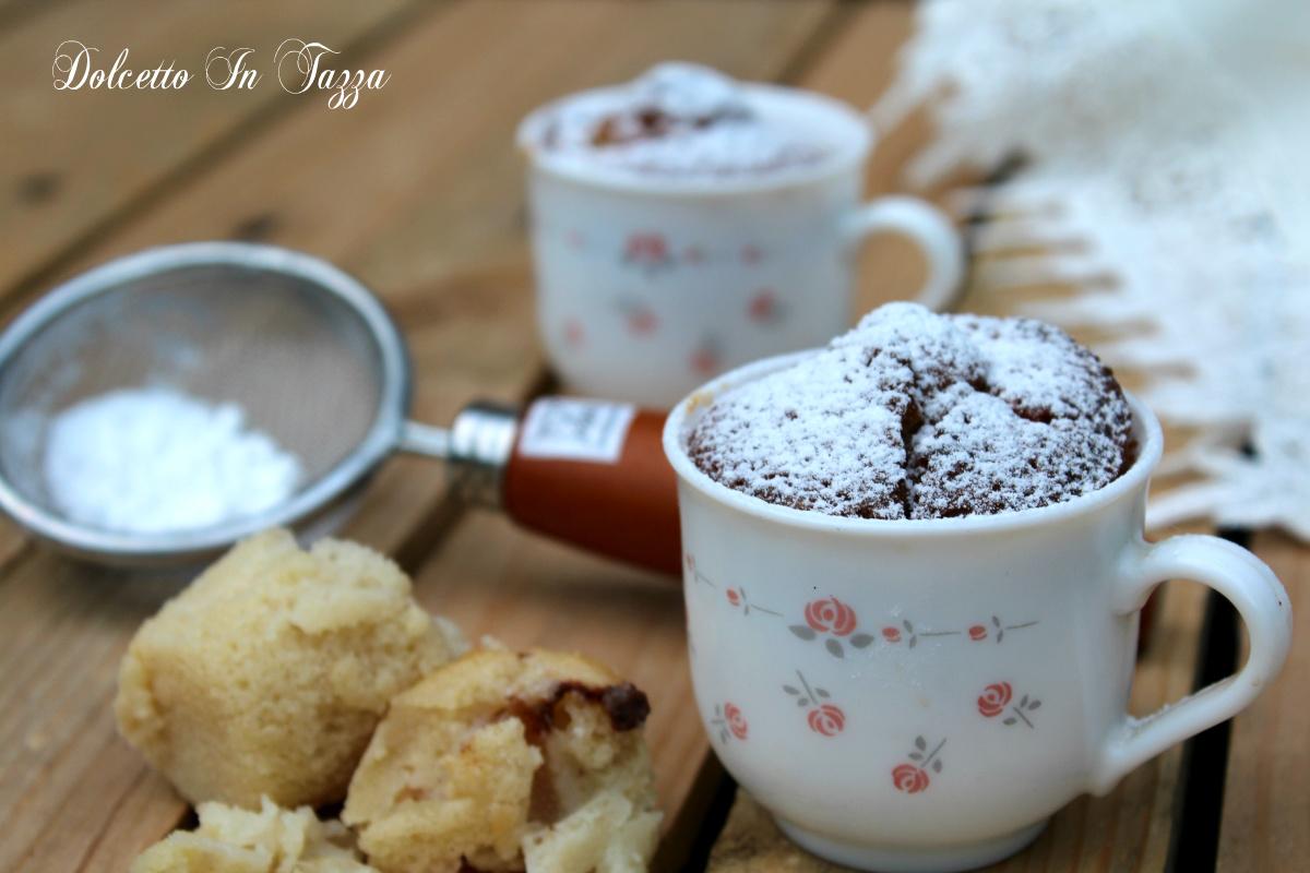 Muffins in tazza