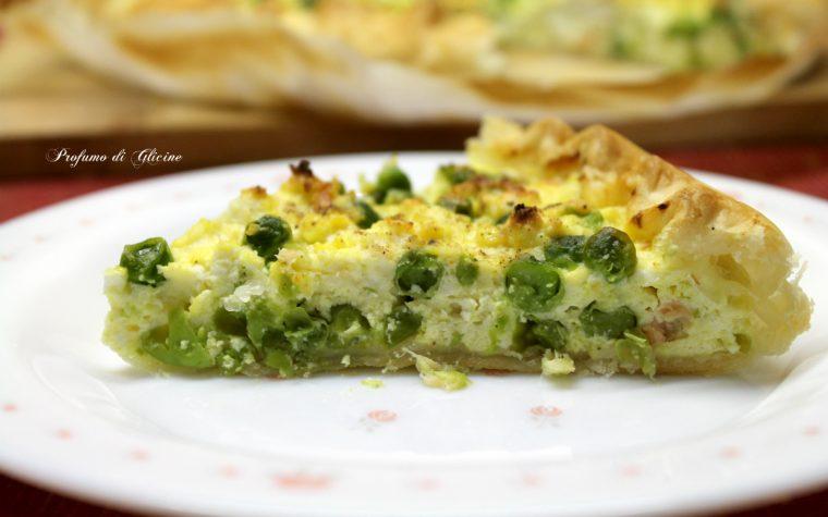 Quiche al salmone - ricetta torta salata semplice