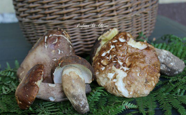 Fusilli con funghi porcini salsiccia e provola