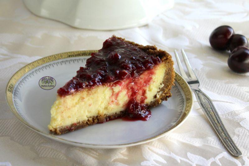 New York cheesecake alle ciliegie – Più buona dell'originale