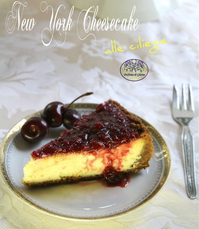 New york cheesecake alle ciliegie