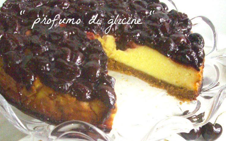New York cheesecake alle ciliegie ricetta dolce rivisitato