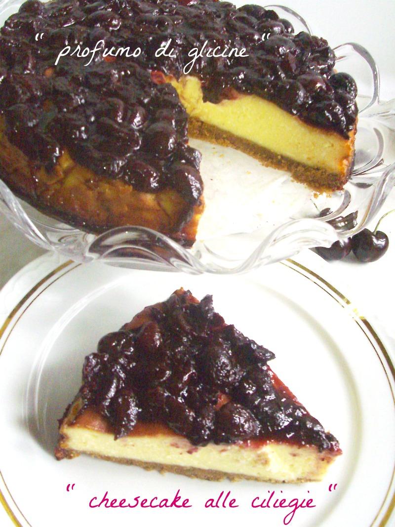 Cheesecake alle ciliegie