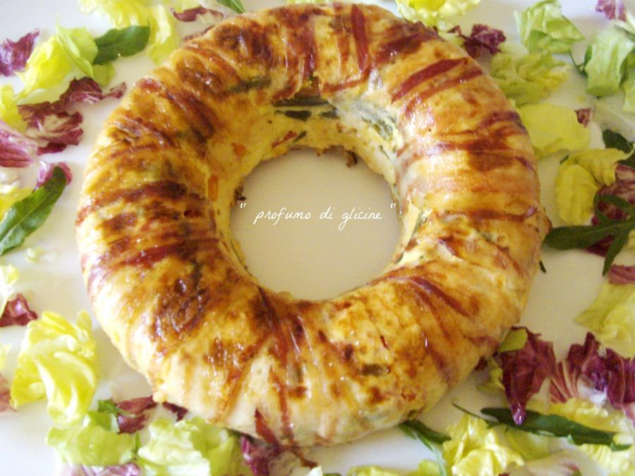 Sformato di pollo e verdure