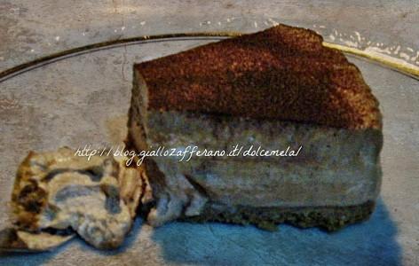 Cheesecake nutella e caffè ricetta dolci senza forno da profumo di glicine