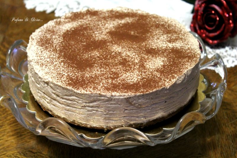 Cheesecake nutella e caffé
