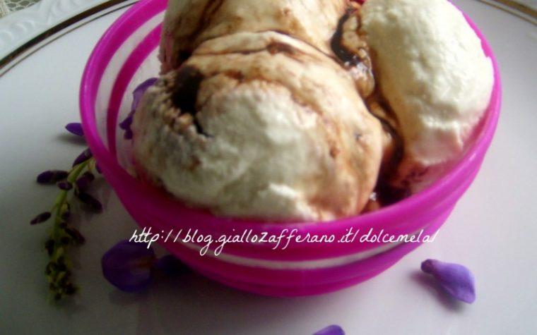 Gelato ai fiori di glicine – ricetta gelato con o senza gelatiera