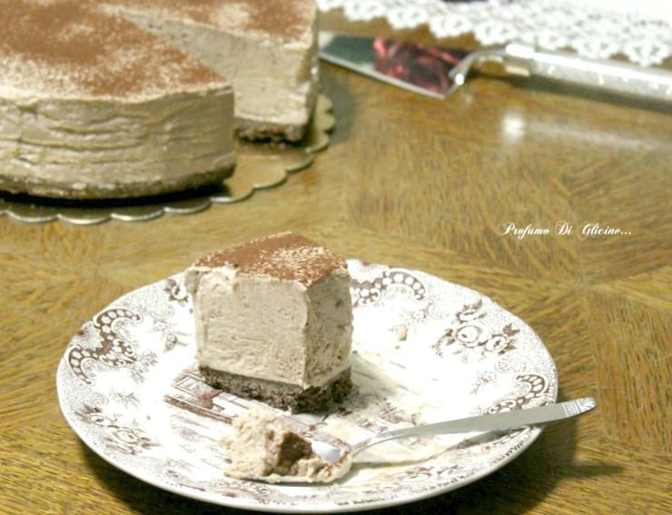 Cheesecake nutella e caffè