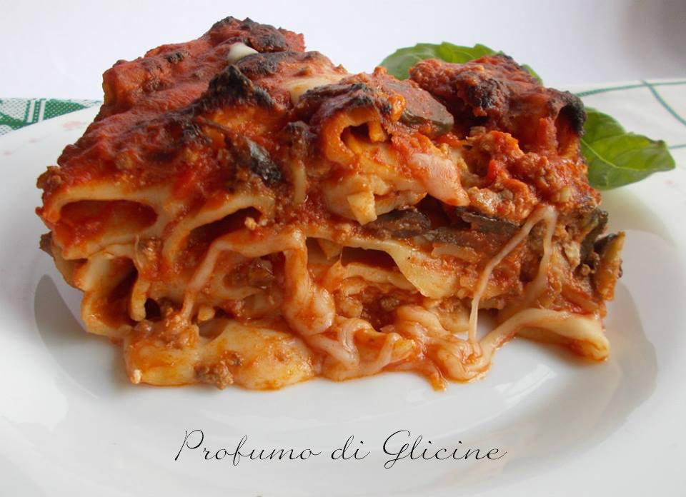 pasticcio d rigatoni al forno-pasta fresca fatta in casa