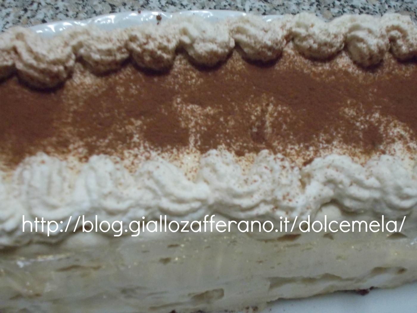 viennetta choco nuit caffè ricetta dolce con uova pastorizzate nella cucina di profumo di glicine