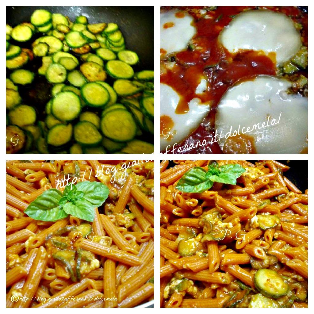 arrabbiatelle alla parmigiana di zucchine ricetta senza forno fa profumo di glicine