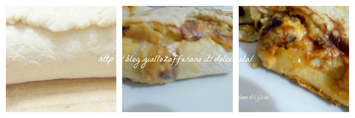rotolo di pasta con lievito madre ricetta pizze e ripieni nella cucina di profumo di glicine
