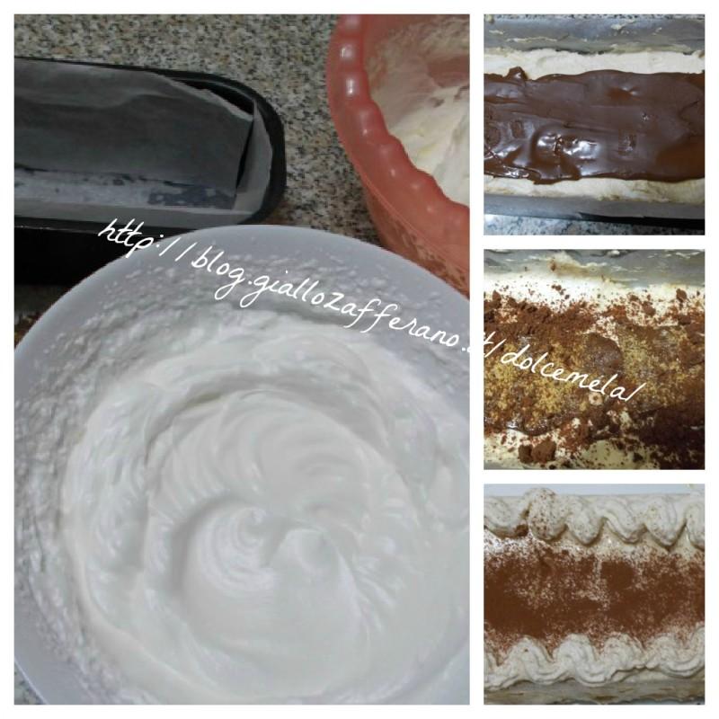 viennetta cioco nuit e caffé ricetta con uova pastorizzate nella cucina di profumo di glicine