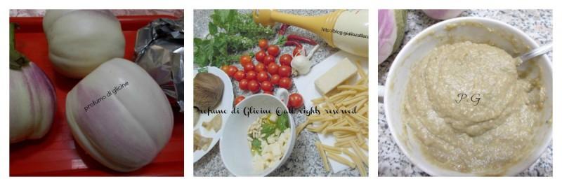 Le Casereccie siciliane al pesto di melanzane