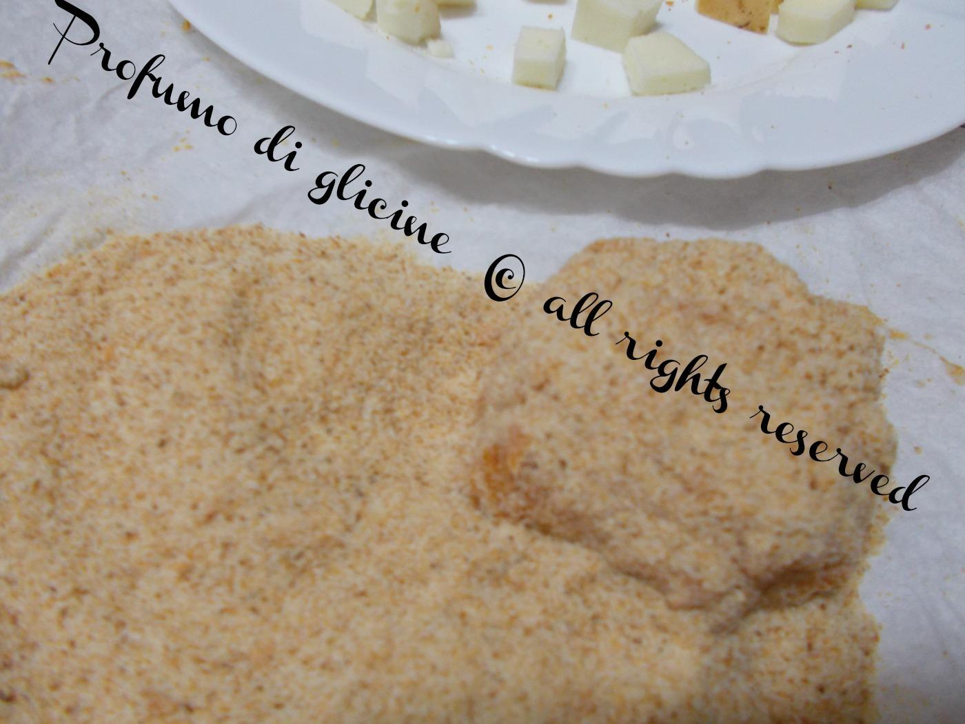polpette di riso con melanzane e scamorza affumicata ricetta light nella cucina di profumo di glicine