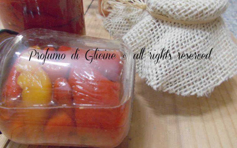 Conserve di peperoni arrostiti – Ricetta facile e infallibile