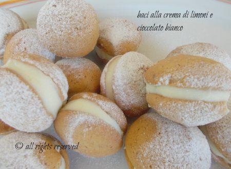 Baci alla crema di limone e cioccolato bianco
