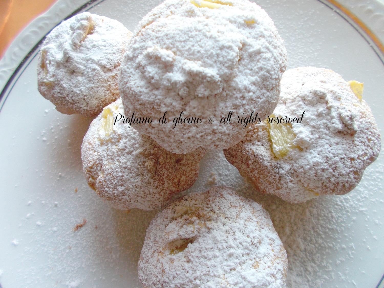 tortine con ananas e noci ricetta semplice e veloce nella cucina di profumo di glicine