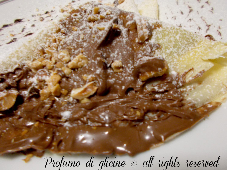 Ricetta crepes nutella croccanti